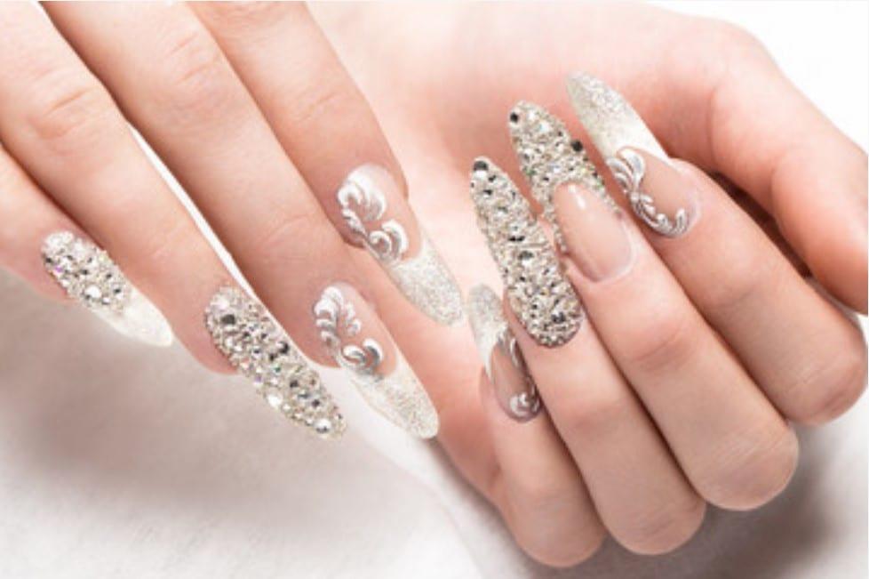 Santorini Bridal Manicure