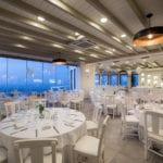 Pyrgos restaurant Central Hall tables