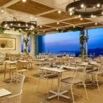 Pyrgos Restaurant Garden Hall views