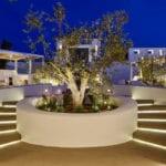 Pyrgos Restaurant Garden Hall entrance