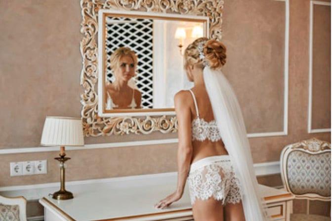 Santorini Weddings Bride Lingerie