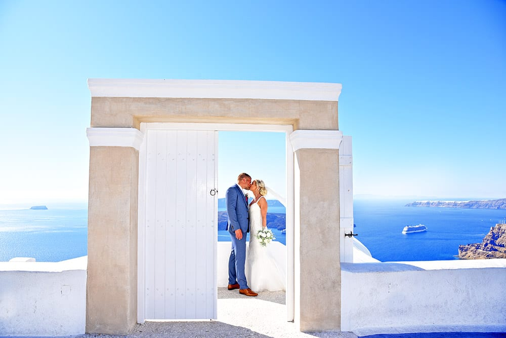 Santo Winery Santorini Wedding Venue