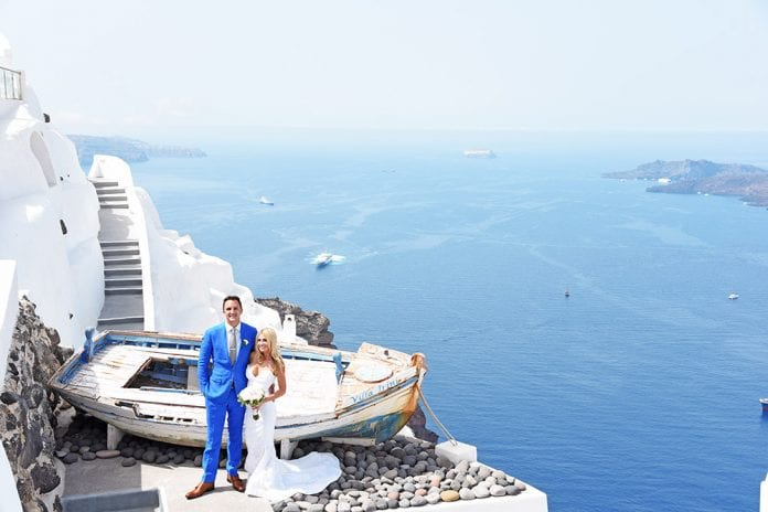 Adonis Santorini Wedding Package
