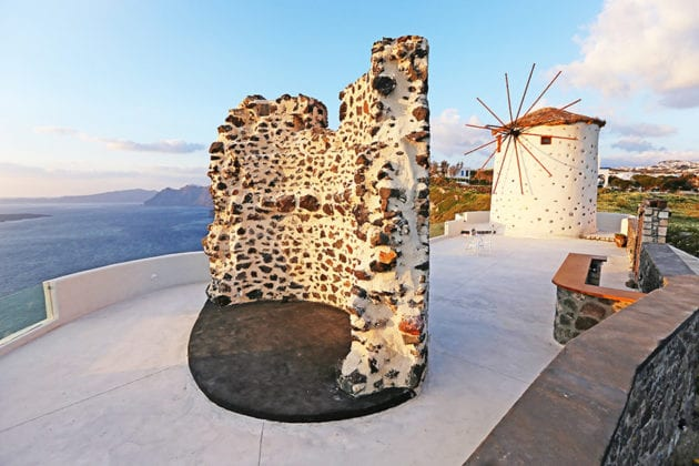 El Viento Santorini Wedding Venue Mill