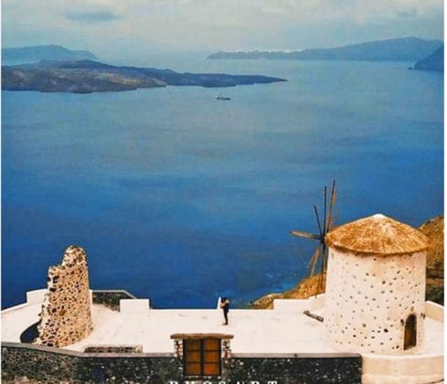 El Viento Santorini Wedding Venue