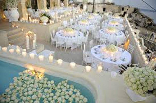 La Maltese Santorini Wedding Wedding Venue outdoor pool