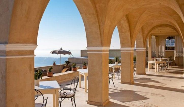 La Maltese Santorini Wedding Wedding Venue outdoors