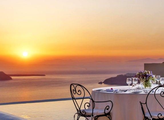 La Maltese Santorini Wedding Wedding Venue Villa