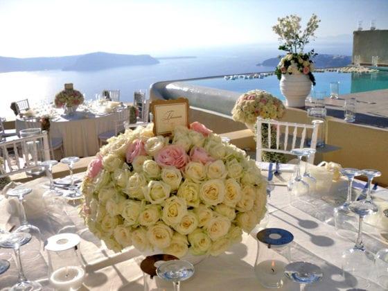 La Maltese Santorini Wedding Wedding Venue