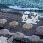 Akro Santorini Wedding Venue Above