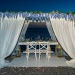 Akro Santorini Wedding Venue Gazebo