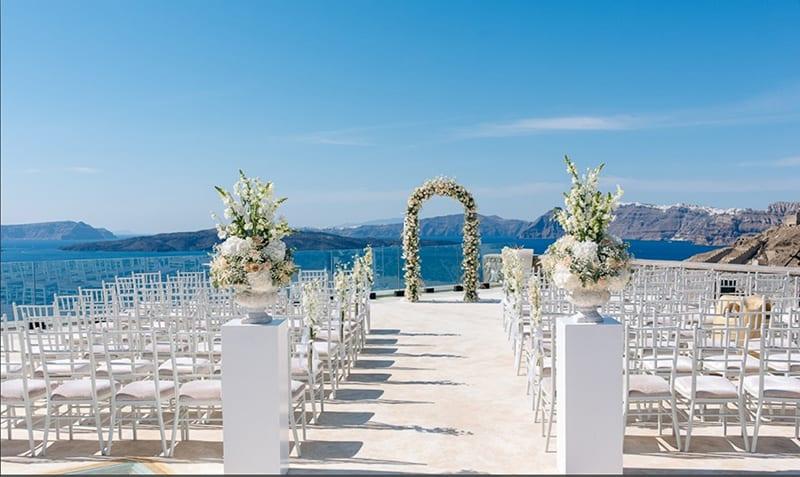 Cavo Ventus Santorini Wedding Venue