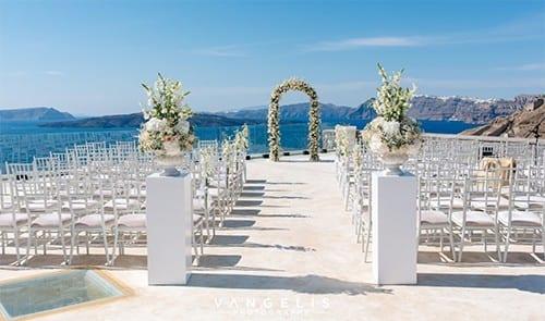 Cavo Ventus Akrotiri Wedding Venue Santorini