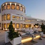 Santorini Wedding Pyrgos Restaurant Halls Agia Fotini