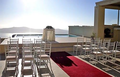 La Maltese Wedding Venue Santorini