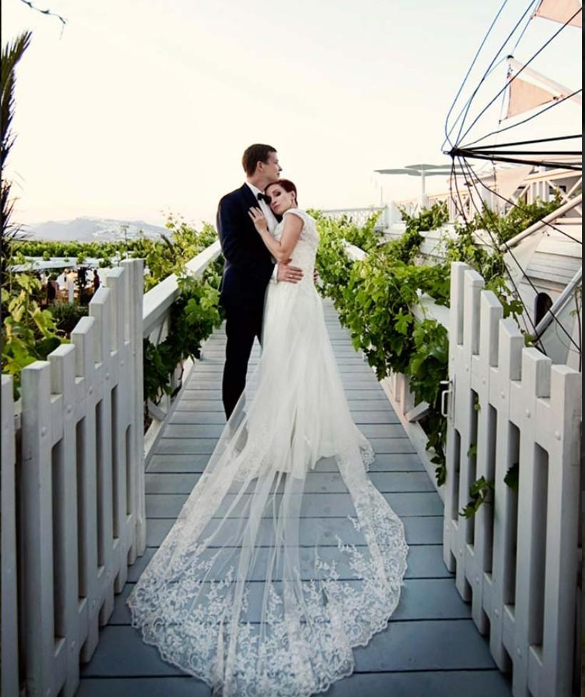 Pyrgos Panorama Hall bridge wedding venue