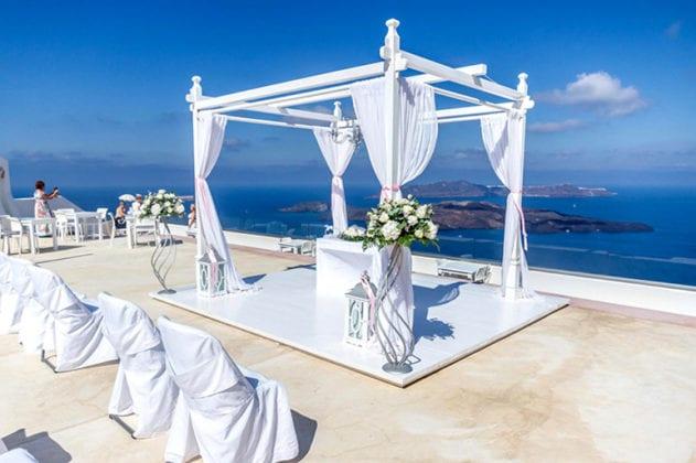 Santorini Gem Wedding Venue