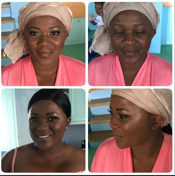 Santorini Wedding Bridal Makeup d2
