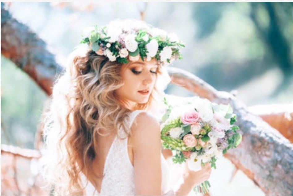 Santorini Wedding Hairdresser Bridal