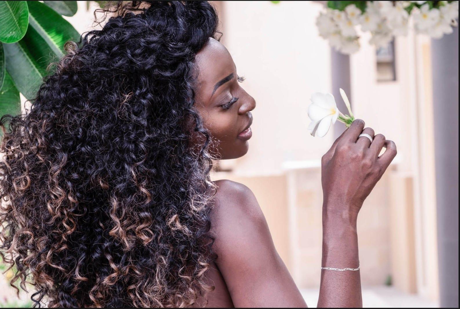Santorini Wedding Bridal Hair Style l2