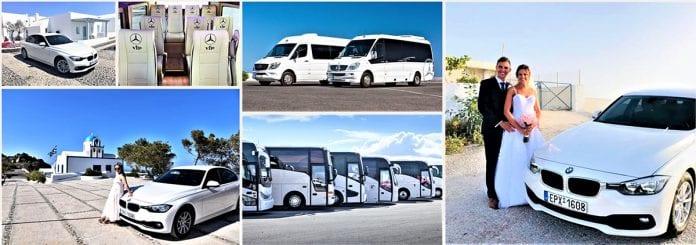 Santorini Wedding Transportation