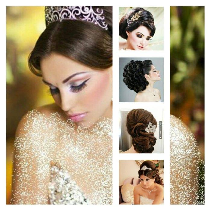 Santorini Wedding Bridal Hair Style 12
