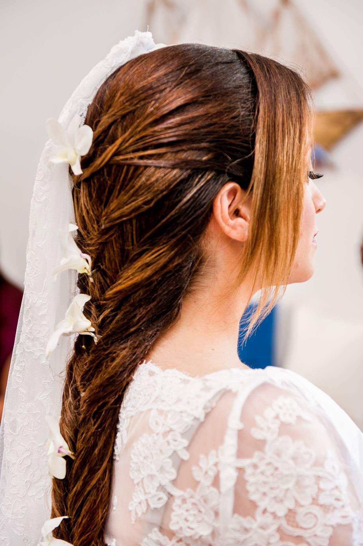 Santorini Wedding Bridal Hair Style 26
