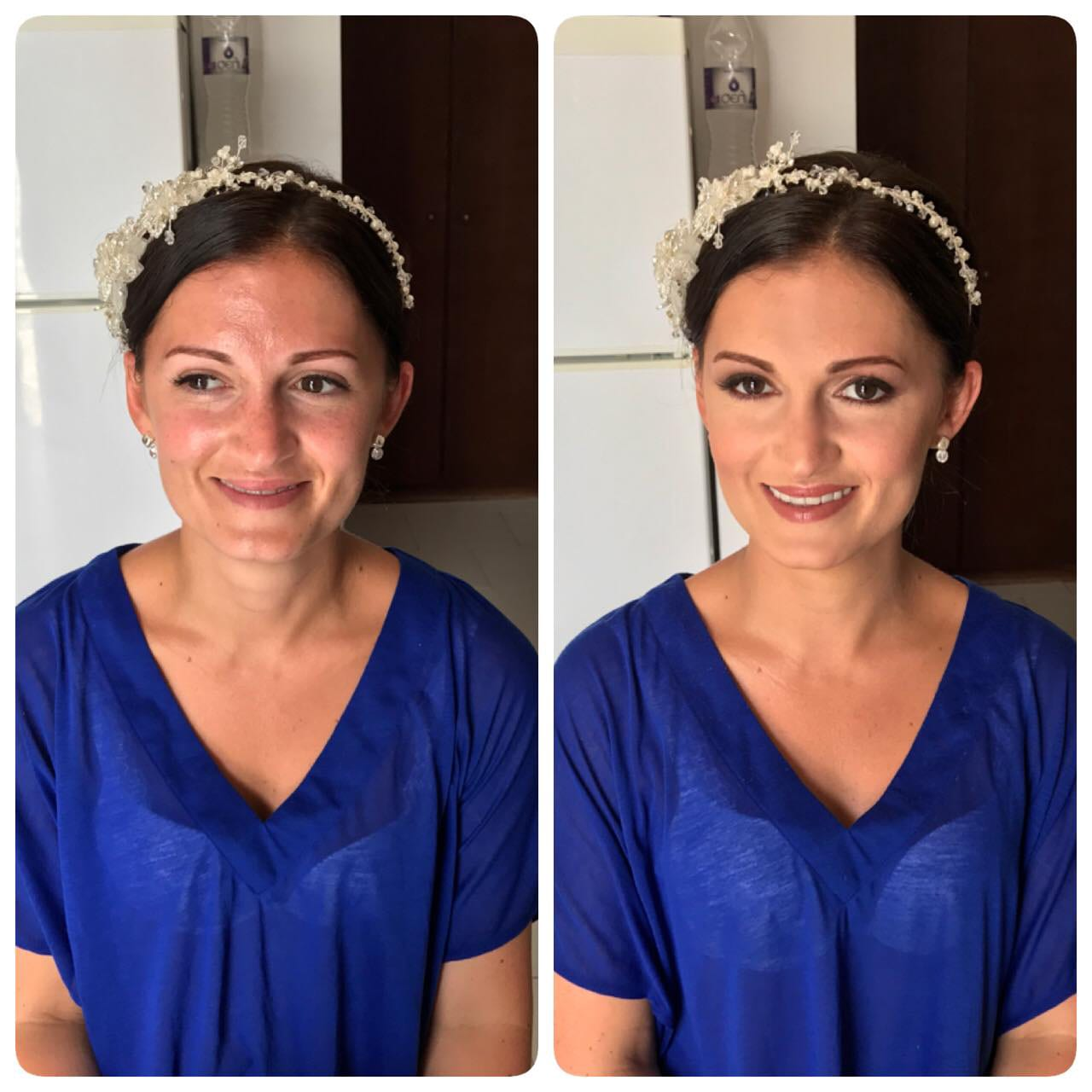 Santorini Wedding Bridal Makeup 04