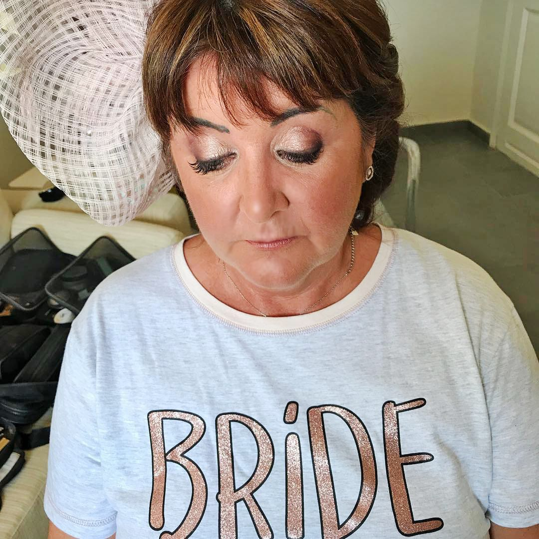 Santorini Wedding Bridal Makeup 3