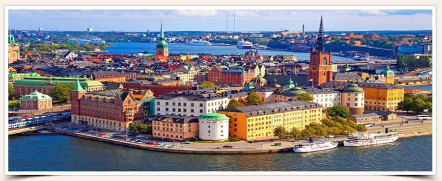Santorini Wedding Legal Documents for Sweden