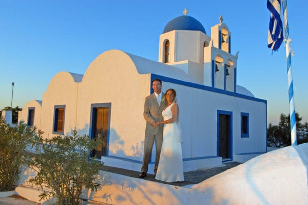 Profitis Elias Santorini Wedding Venue