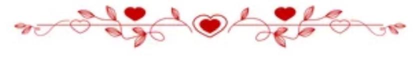 Santorini wedding hearts line
